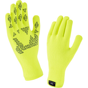 Sealskinz Ultra Grip Handschoenen, hi vis yellow